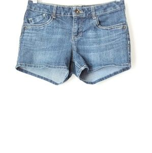 Sequin Hearts | Blue Jeans Shorts Sz 9